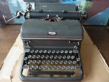 Vintage ROYAL KMM Magic Margin Black Typewriter~Works Great!