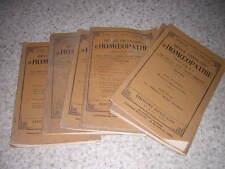 1931.revue française d'homéopathie.9N°s.médecine