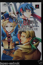 JAPAN Wild Arms Alter Code:F The Master Guide art book OOP