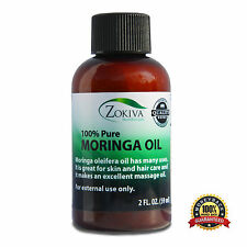 Moringa Oil 100% Pure Cold Pressed  All-Natural, Anti-Aging, 2 fl. oz. (59ml)