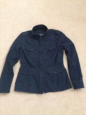Abercrombie & Fitch Womens Military Twill Shirt Jacket