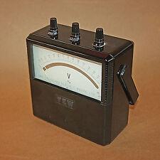 Vintage Yokogawa Electric Works type 2013  Portable 300 VOLT Meter