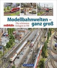 Modellbahn Welten ganz groß Bildband Modelleisenbahn Anlagenplanung HO Buch