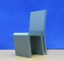 Easy Edge Chair,1:12 Scale Mini Replica,Dollhouse Modern Furniture,Famous Design