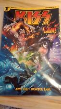 Bam Box exclusive KISS comic book #1 signed by artist