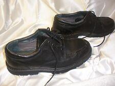 Dockers Men's Pro style upper Leather oil resistance lace up Black Shoes,Size 10