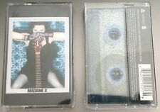 Madonna Madame X Blue Glitter Cassette RARE Limted Edition Collectable