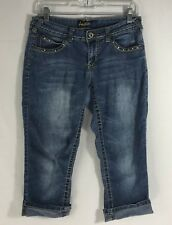Angels Cropped Capri Jeans Size 11