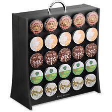 "Mind Reader Wall Coffee Pod Dispenser 50 Cup Cap. 12""x5-1/2""x13-1 /2"" Bk Rac01Blk"