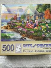 Bits and Pieces 500 Piece Jigsaw Puzzle Lighthouse Picnic