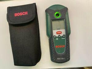 Bosch PDO Multi Leitungs Detektor Leitungsfinder Metall Leitungssucher in Tasche