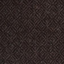 Dark Brown Diamond Weave Natural Undyed Tweed - 2.50 Mtrs