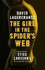 The Girl in the Spider's Web: Continuing Stieg Larsson's Millennium Series by Da