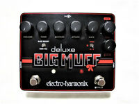 Used Electro-Harmonix EHX Deluxe Big Muff Pi Distortion Fuzz Overdrive Pedal