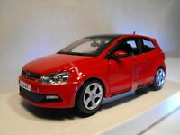MODEL VW POLO GTI DIECAST MODEL RED V W POLO NEW Scale1:24 Polo GTI MARK 5 GIFT