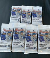 2020 BOWMAN BASEBALL FAT PACK LOT (7 Fat Packs) In Hand! Free Shipping
