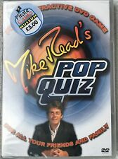 Mike Read's Pop Quiz - Interactive DVD Game. New!