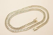 925 Sterling Silver Curb Chain Necklace. 52 grams, 56 cm, 22""