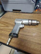 "Snap On Reversible 3/8"" Pneumatic Drill Aircraft Tool Usa Made"