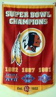 Washington Redskins super bowl champions flag 30*50inch banner US seller