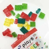 Play gummy block  4D Kids Creative THAI SNACK PLAY MORE BRAND 1PACK x  64 g.