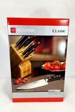 Wusthof Germany 7 Piece Classic Knife Block Set 7417  NEW