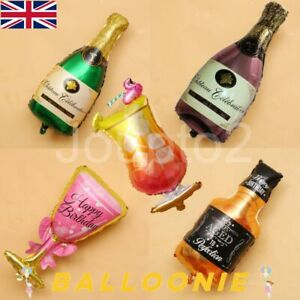 Drink Champagne Beer Whiskey Bottle Cup Glass Balloon Balloons Dad Mum Cocktail