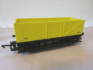 HORNBY OO YELLOW 12T OPEN  WAGON