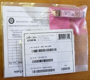 Cisco SFP-10G-LRM Transceiver 10-2456-02 module 10Gb SFP+ LRM
