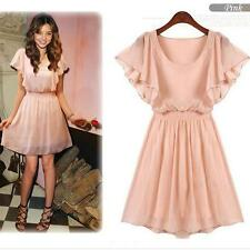 New Women's Girl Chiffon Party Club Dress One Size SHOP Online