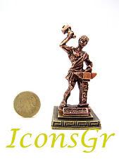 Ancient Greek Miniature Olympian God Pantheon Sculpture Statue Zamac Hephaestus