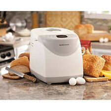 Hamilton Beach 2lb Bread Machine Maker Automatic Breadmaker Home Bakery Loaf NEW