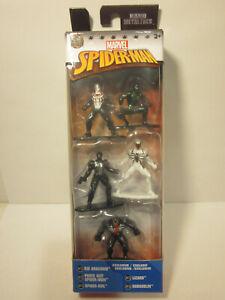 Spider-Man Nano Metalfigs 5-Pack Figure Set Packaging ERROR Marvel Comics Venom