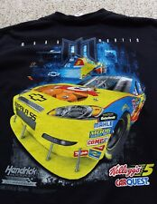 VTG Chase Mark Martin T Shirt Hendrick Motors Kelloggs 5 Carquest Graphic Tee XL