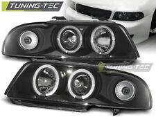 Headlights For AUDI A4 11.94-12.98 ANGEL EYES BLACK