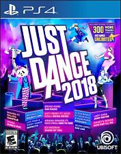 Just Dance 2018 (Sony PlayStation 4, 2017)