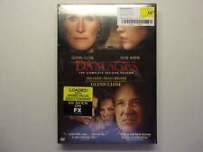 Damages    The Complete Second Season    Glen Close    3- DVD set    New Sealed