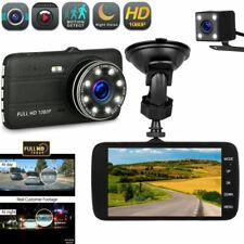"Dual Lens Car DVR Camera Vehicle Video Recorder Dash Cam 4.0"" LCD Full HD 1080P"