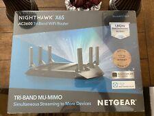 Netgear Nighthawk X6S AC3600 Tri-Band WiFi RouterMU-MIMO Parent Control SEALED