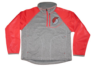 NWT Youth G-III Portland Trail Blazers Mountain Trail Pullover Shirt SMALL 8-10