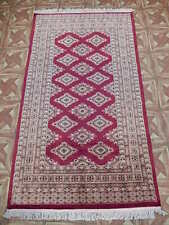Blood Red Rug (37 x 64 in) 3' x 5' Fire and Blood Jaldar Handmade Rug