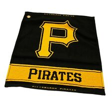 Pittsburgh Pirates Woven Fabric Golf Bag Towel - Club Bag Towels - Large