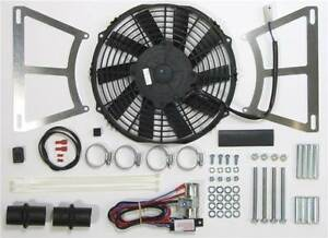 Revotec Electronic Cooling Fan Conversion Kit MGA - Negative Earth