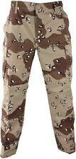 Camouflage Digital 6-Pocket Military Tactical Poly/Cot BDU Cargo Fatigue Pants