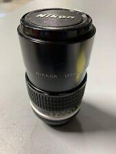 Nikon Nikkor 135mm 1:28 Lens