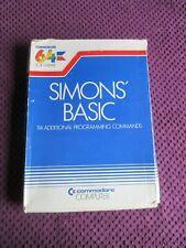 Commodore 64 -  Simons Basic Cartridge