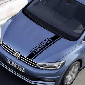 Volkswagen Touran Sports Stripes Auto DIY Hood Stickers Vinyl Decals