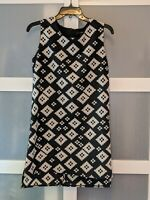 XXI Black and White Shift Dress – Size Small