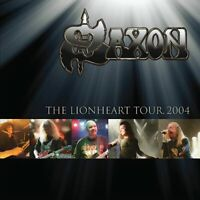 SAXON THE LIONHEART TOUR 2004  2 x vinyl lp gold Vinyl lp DEMREC 167