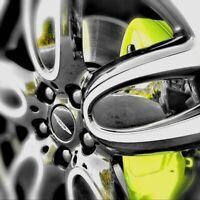 4x mini carbone noir 3D wheel centre caps 54mm coupe clubman cooper s uk post